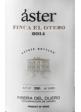ASTER FINCA EL OTERO 2014 ESTUCHE MADERA