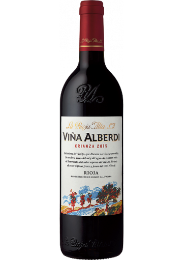 VIÑA ALBERDI CRIANZA 2015 3/8