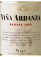 VIÑA ARDANZA RESERVA 2008 3/4